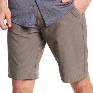 Volcom Patterned Dry Hybrid Shorts Sz 36